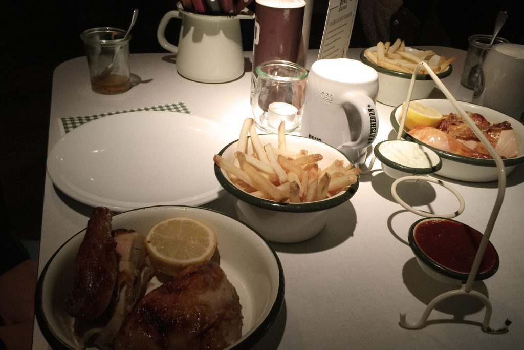 Cena en Hamburgo: Soho Chicken