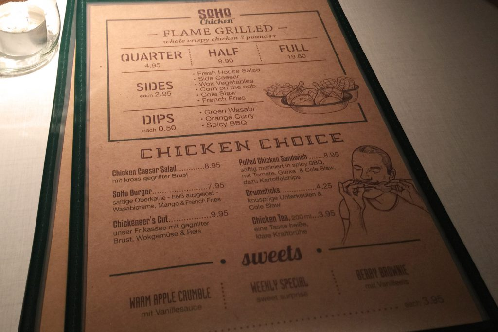 Restaurante Soho Chicken en Hamburgo